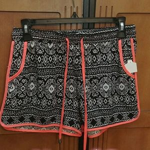 NWOT Patterned Shorts